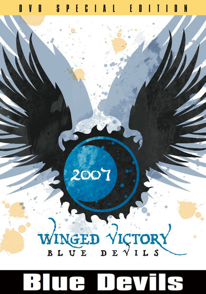 Winged Victory - Inside the Blue Devils 2007 Blue Ray DVD