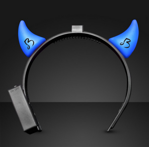 Blue Devil Horns