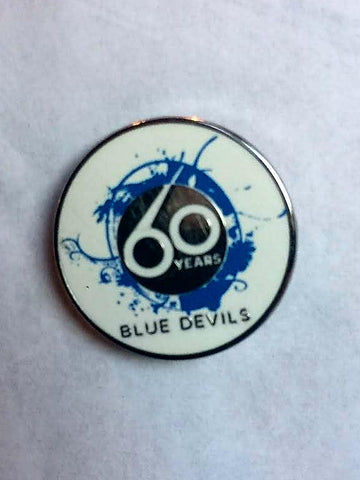 Blue Devils 60th Anniversary Lapel Pin