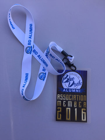 Alumni Lanyard and Badge