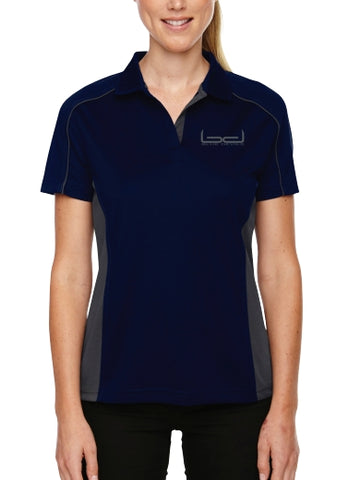 Blue Devils Ladies Polo (Navy/Carbon)