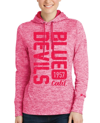 Blue Devils Ladies Fleece Pullover Hoodie