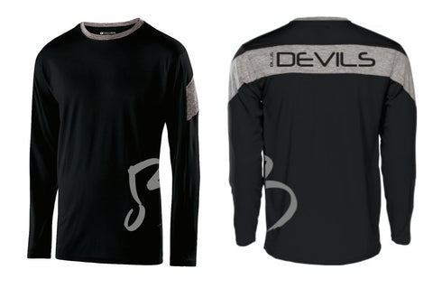 Blue Devils Electron Long Sleeve Rehearsal Shirt