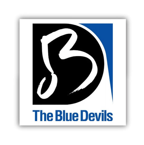 Blue Devils Logo Sticker