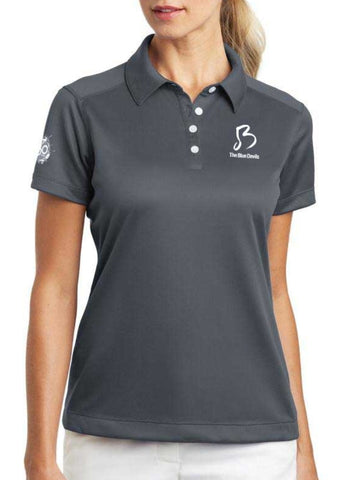 Blue Devils Ladies 60th Anniversary Dri-Fit Polo