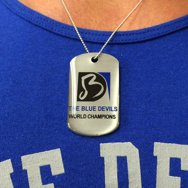 Blue Devils Dog Tags