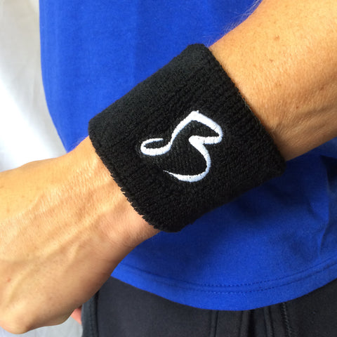 Blue Devils Black Wristband