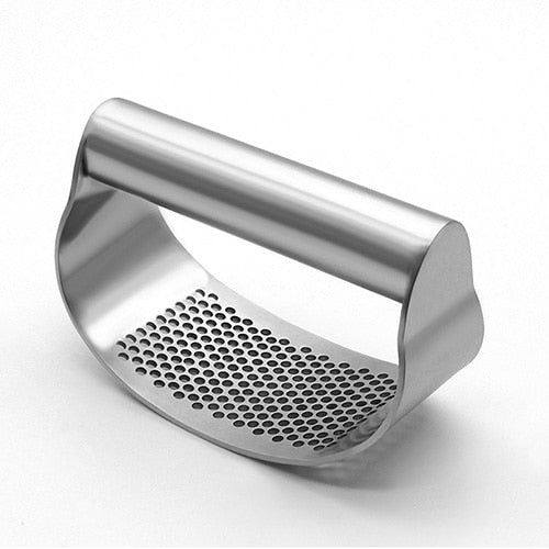 100% Stainless Steel Garlic Press