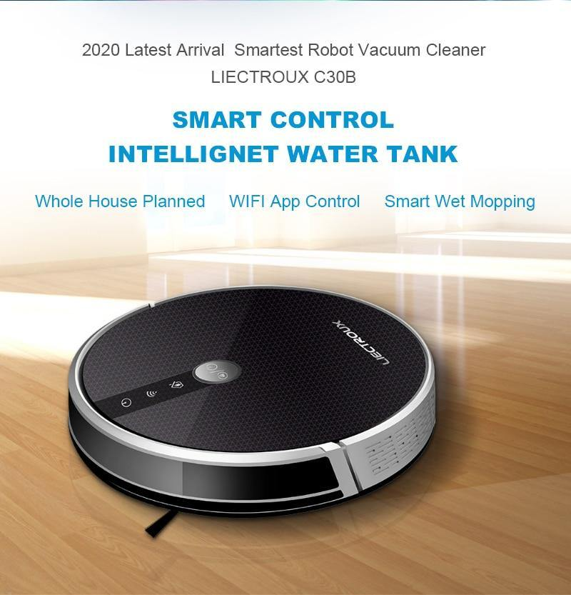 LIECTROUX C30B Robot Vacuum Cleaner - Shop it Big