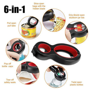 6 in 1 Multi Function Opener - Shop it Big