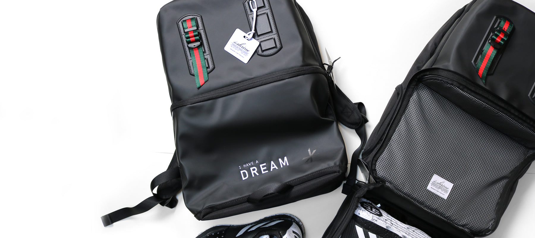 Triple Black MLK 'Dream' Edition Sneaker Daypack