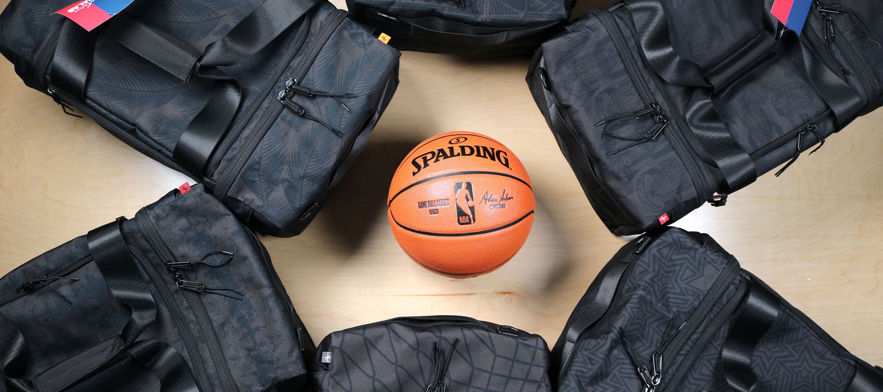 NBALAB x The Shrine Sneaker Duffle Bag Collab dropping