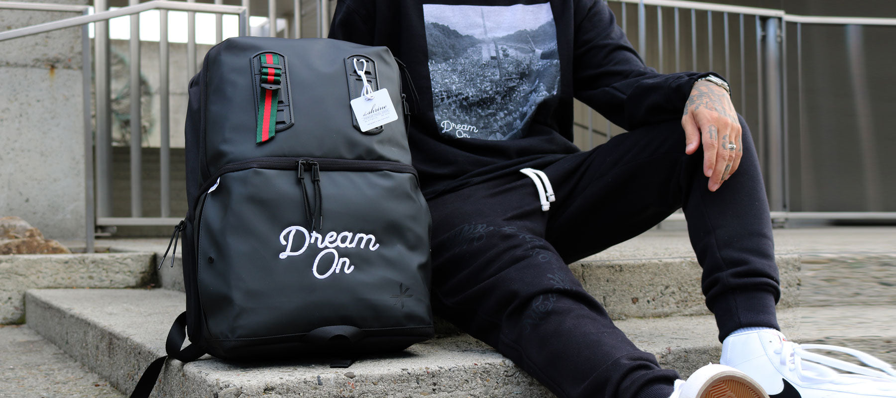 Dream On x The Shrine Co collab MLK 'Dream' Edition pack