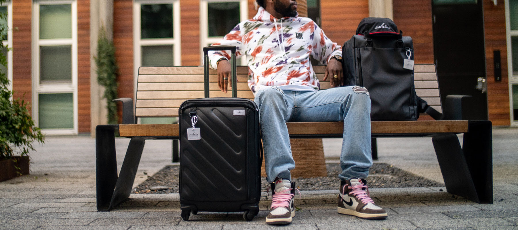 The Shrine drops new 4 wheel spinner luggage