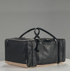 The Shrine x Freeman Plat Sneaker Duffel - Black Leather
