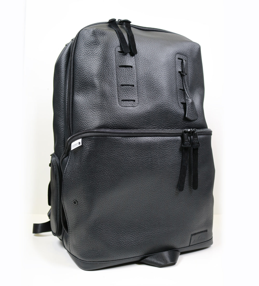 Shrine Sneaker Daypack - Black Leather