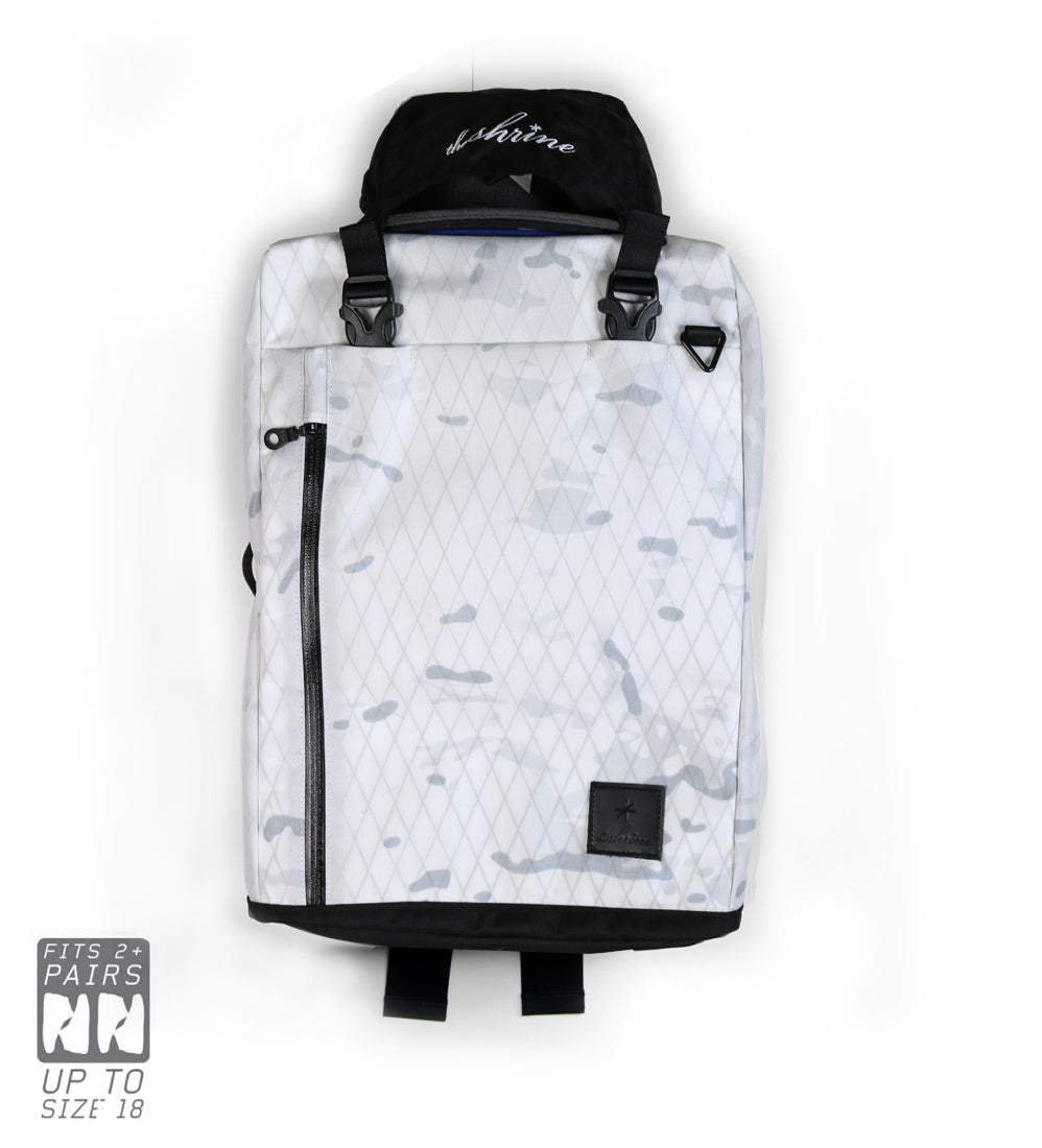 Shrine Sneaker Weekender - X-pac™ X50 Alpine White Camo