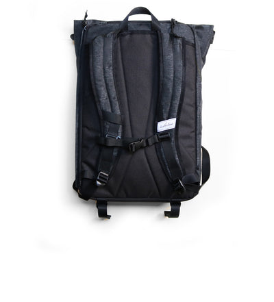Shrine Sneaker Rolltop Daypack - Black Camo