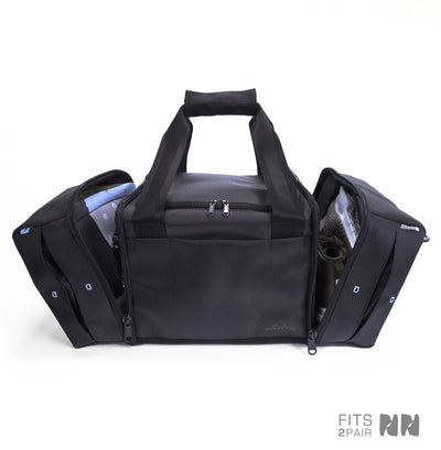 Shrine Sneaker Duffel - Diamond Press Black/Teal