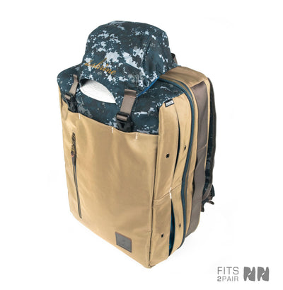 Shrine Weekender Sneaker Backpack - Navy Pixel Camo