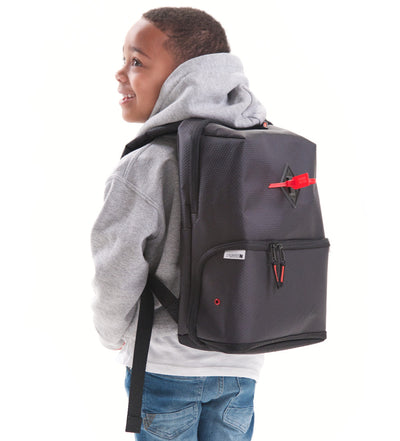 Shrine Sneaker Kids Daypack - Diamond Press Black/Red
