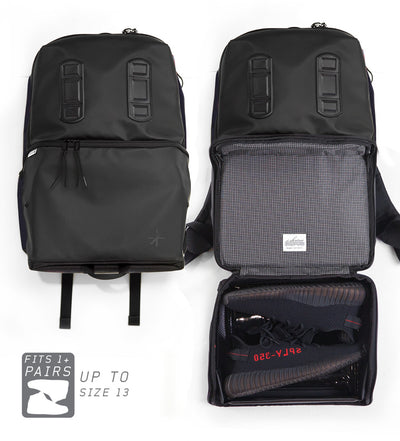 Shrine Sneaker Daypack - Triple Black