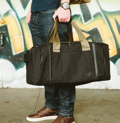 Shrine Sneaker Duffel - Black