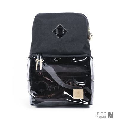 Shrine Sneaker Daypack - Smoked Translucent/Black