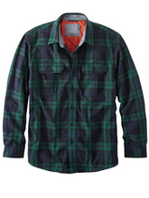 Load image into Gallery viewer, Men's Plaid Pocket Long Sleeve Shirt