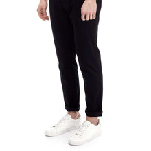 Load image into Gallery viewer, Black Blake Slim Fit Stretch Chinos