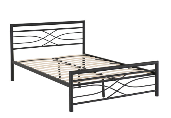 metal bed frame double Kelly