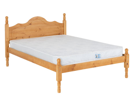 Sol bed frame low foot end  Pine