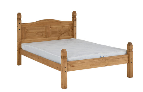 Corona bed frame high low end double