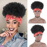 Kinky Curly Short Synthetic Hair Extension