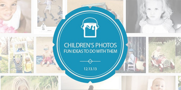 Custom Art Projects & Fun Things To Do With Children Photos