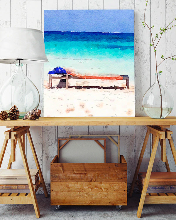 Brighten Up Your Room With Tropical Art Collection