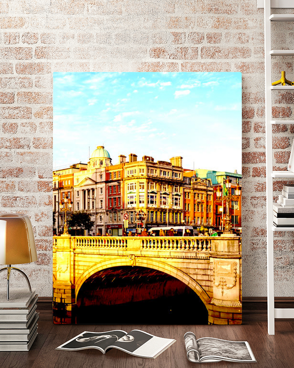 Dublin Ireland Canvas Art