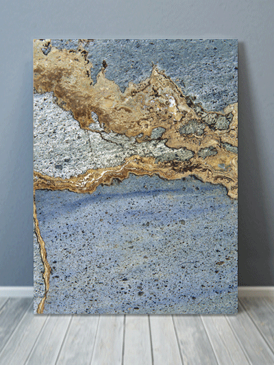 Rusted Marble Texture Canvas Art