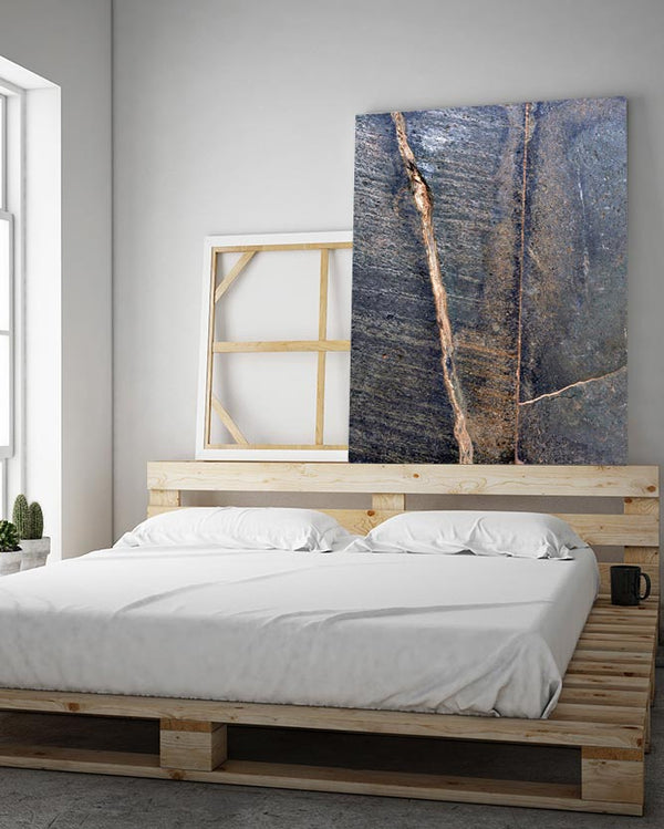 Rusted Stone Texture Canvas Art