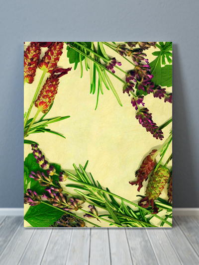 Country Flower Canvas Art