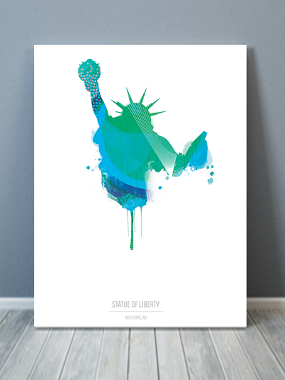 Statue of Liberty NYC Canvas Art
