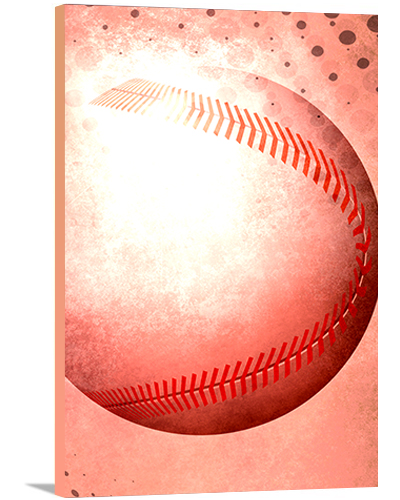 Baseball Modern Canvas Art