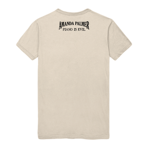 Fix Your Own Shit Unisex CLEAN Tee (in Cream)