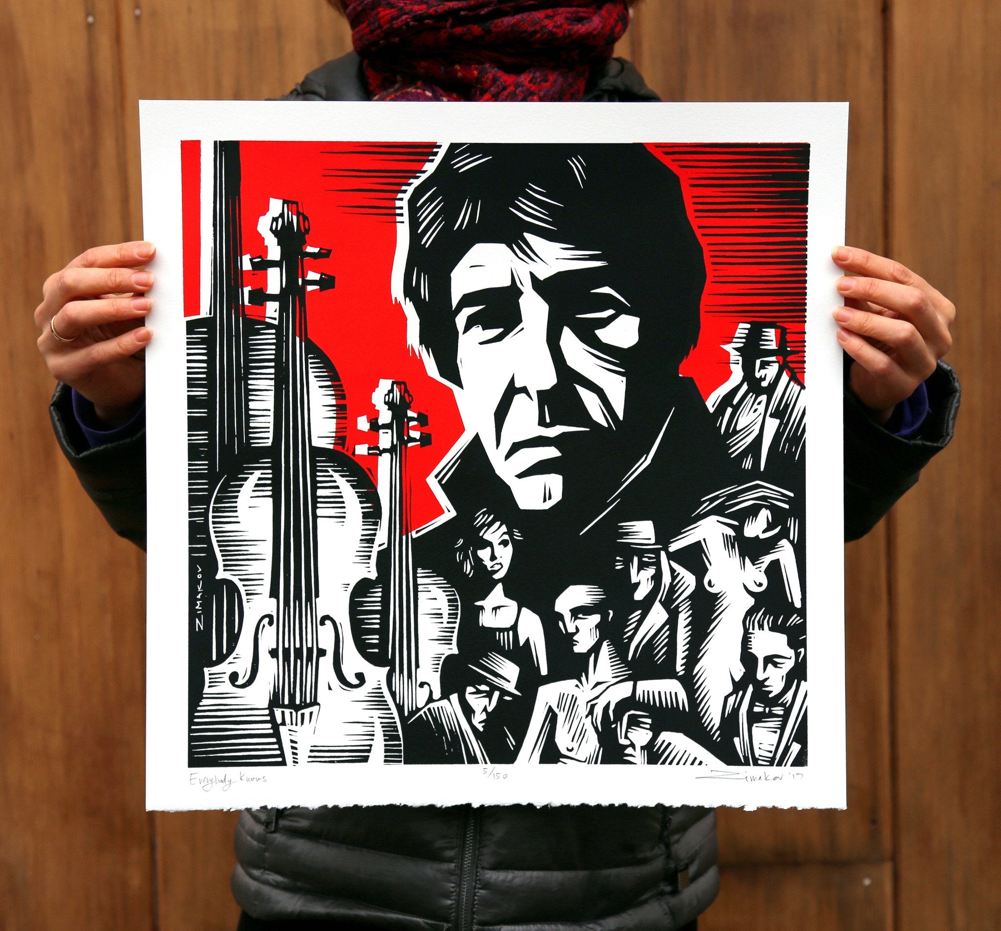 Limited Edition Cohen Print
