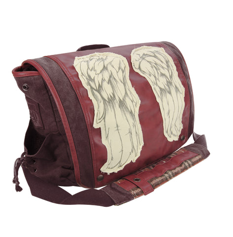 Daryl Wings Messenger Bag - Dead Red