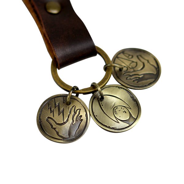 Rapture Plasmids/Brass Tokens - Keychain