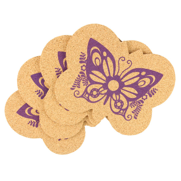Reusable Cork Coasters - Super Fly