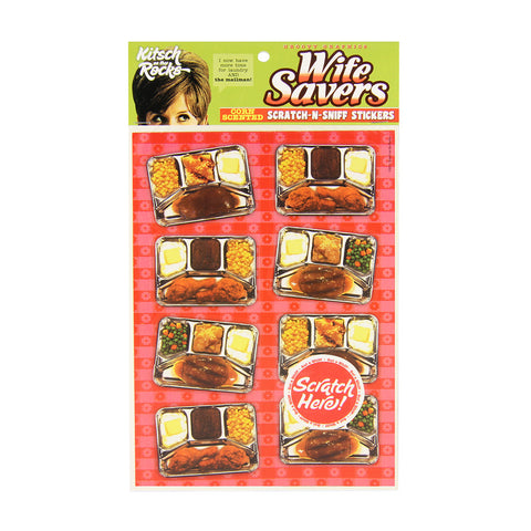 Scratch-N-Sniff Stickers - Wife Savers