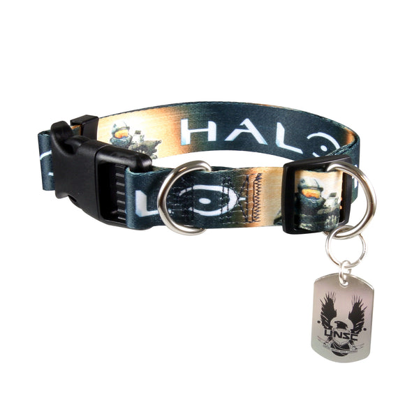 The Master Chief Dog Collar