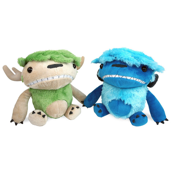 "Angus & Edie 6"" Plush Set"